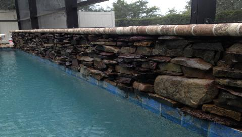 pool waterwall in manatee county